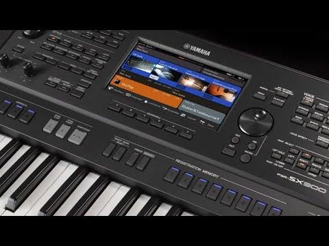 Thông tin về đàn Yamaha psr-xs900, xs700
